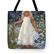 Grace In The Fairy Garden Tote Bag