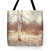 Grace In The Snow. Winter Poems Tote Bag