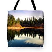 Grace Lake Northern California Tote Bag