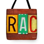 Grace License Plate Name Sign Fun Kid Room Decor. Tote Bag