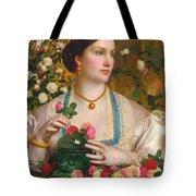 Grace Rose Tote Bag
