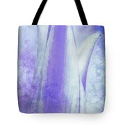 Graced Blossom In Lavender Tote Bag