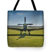 Graceful Spitfire Hdr Tote Bag