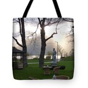 Gracing The Sun Tote Bag