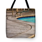 Gracious Curves Palm Springs Tote Bag