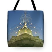 Gradient Zoom Tote Bag