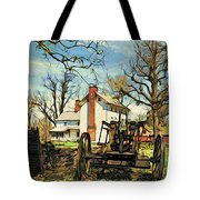 Graeme Park Farmhouse View Tote Bag