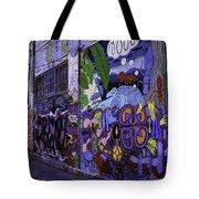 Graffiti Alley San Francisco Tote Bag