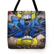 Graffiti Art Curitiba Brazil 7 Tote Bag by Bob Christopher