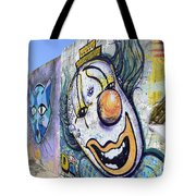 Graffiti Art Santa Catarina Island Brazil 1 Tote Bag by Bob Christopher