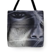 Graffiti Art With Mixed Textures Tote Bag