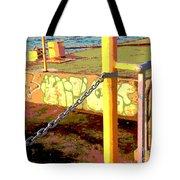 Graffiti Dock Tote Bag