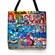 Graffiti Street Tote Bag by Bill Cannon