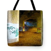 Graffiti Under The Bridge Tote Bag