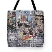 Graffiti Walls Tote Bag