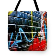 Graffitti Wall Tote Bag