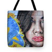 Grafitti Art Calama Chile Tote Bag