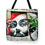 Grafitti Three Lady Tote Bag
