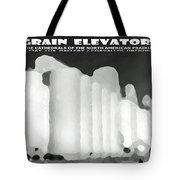Grain Elevators Sacramento Valley California Tote Bag