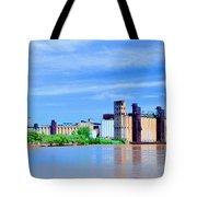 Grain Mills Tote Bag