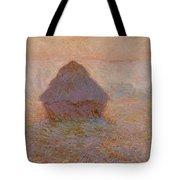 Grainstack  Sun In The Mist Tote Bag
