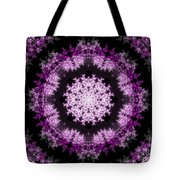 Grammy's Psychedelic Doily Tote Bag