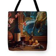 Gran Chateau With Pears Tote Bag