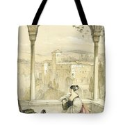 Granada , Plate 9 From Sketches Tote Bag