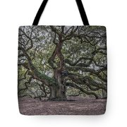 Grand Angel Oak Tree Tote Bag