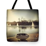Grand Basin In Forest Park Tote Bag