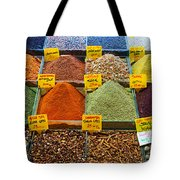 Grand Bazaar Spices In Istanbul Tote Bag