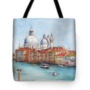 Grand Canal And Santa Maria Della Salute Venice Tote Bag
