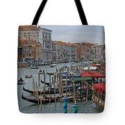 Grand Canal From Rialto Bridge Tote Bag