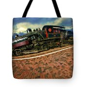 Grand Canyon 29 Railway Tote Bag