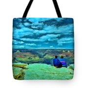 Grand Canyon # 7 - Hopi Point Tote Bag