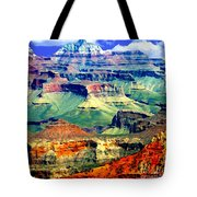 Grand Canyon After Monsoon Rains Tote Bag