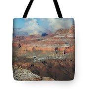 grand Canyon After the Snow Tote Bag