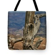 Grand Canyon And Dead Tree 2  Tote Bag