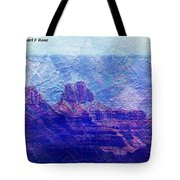 Grand Canyon As A Painting 2 Tote Bag