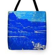 Grand Canyon Blues Tote Bag