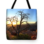 Grand Canyon Gathering The Light Tote Bag