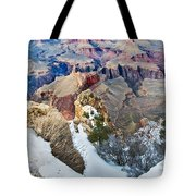 Grand Canyon In February Tote Bag