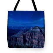 Grand Canyon In Moonlight Tote Bag