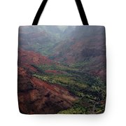 Grand Canyon Of The Pacific Tote Bag