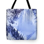 Grand Canyon Of The Yellowstone Yellowstone National Park Wyoming Tote Bag