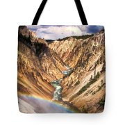 Grand Canyon Of Yellowstone 1 Tote Bag