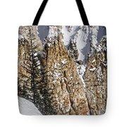 Grand Canyon Of Yellowstone Tote Bag