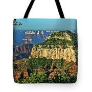 Grand Canyon Peak Angel Point Tote Bag