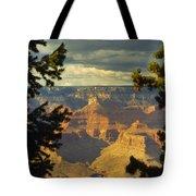 Grand Canyon Peek Tote Bag
