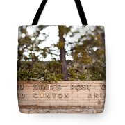 Grand Canyon Post Office Tote Bag